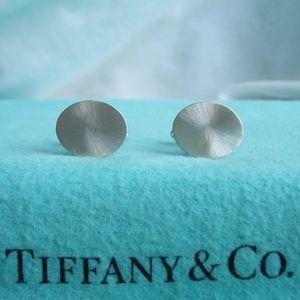 Tiffany & Co. Custom Silver Starburst Cuff Links
